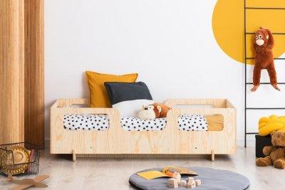 KIKI 17  80x170cm Łóżko dziecięce drewniane ADEKO