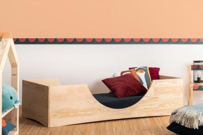 PEPE 2 80x140cm Łóżko drewniane dziecięce