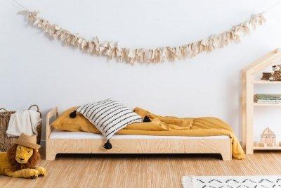 KIKI 2  90x150cm Łóżko dziecięce drewniane ADEKO
