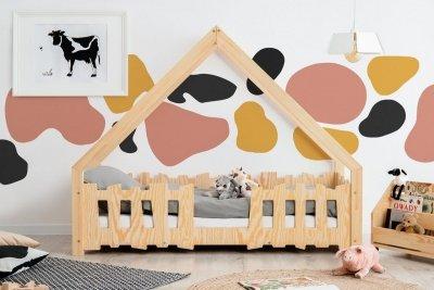 GATO 80x160cm Łóżko dziecięce domek ADEKO