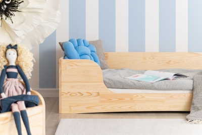 PEPE 4 80x160cm Łóżko drewniane dziecięce