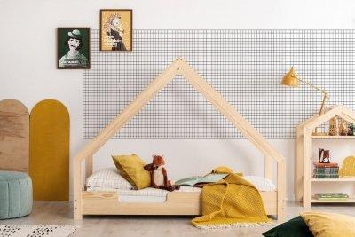 Loca C 80x150cm Łóżko dziecięce drewniane ADEKO