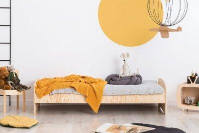 KIKI 11  90x170cm Łóżko dziecięce drewniane ADEKO