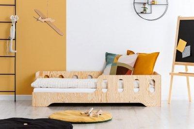 KIKI 1 - L  90x160cm Łóżko dziecięce drewniane ADEKO
