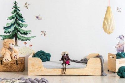 PEPE 6 80x190cm Łóżko drewniane dziecięce