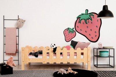 OLAF B 80x160cm Łóżko dziecięce domek ADEKO