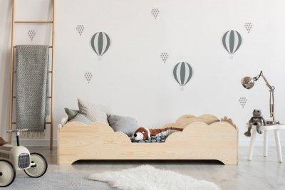 BOX 10 80x160cm Łóżko drewniane dziecięce
