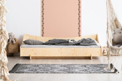 KIKI 8  90x150cm Łóżko dziecięce drewniane ADEKO