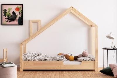 Luna C 80x170cm Łóżko dziecięce drewniane ADEKO