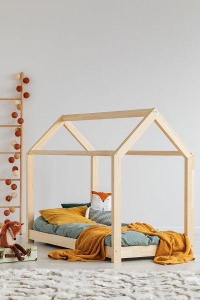 M 160x190cm Łóżko  dziecięce drewniane Mila ADEKO