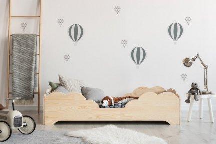 BOX 10 100x170cm Łóżko drewniane dziecięce