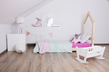 Łóżko drewniane Mila SM 100x200cm