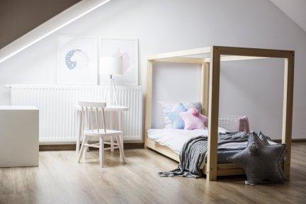 Łóżko drewniane Mila KM 70x160cm