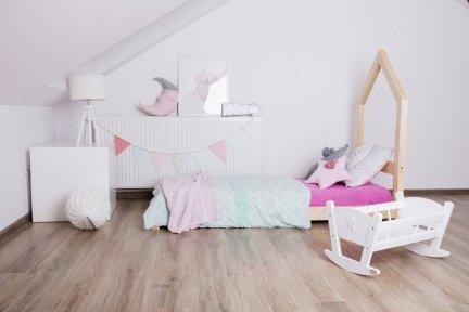 Łóżko drewniane Mila SM 60x120cm