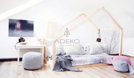 Łóżko dziecięce domek Mila DM 140x190cm ADEKO
