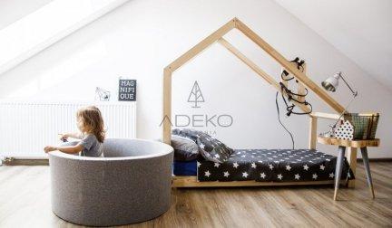 Łóżko dziecięce domek Mila DMS 80x140cm ADEKO