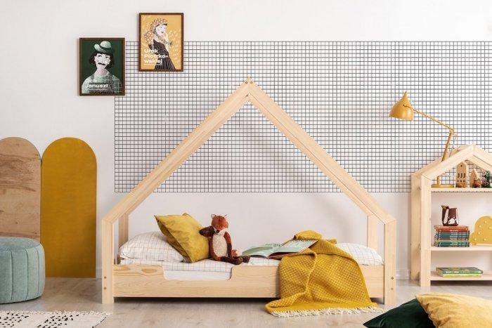 Loca C 90x140cm Łóżko dziecięce drewniane ADEKO