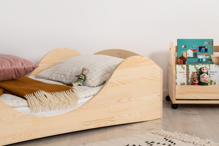 PEPE 1 90x150cm Łóżko drewniane dziecięce