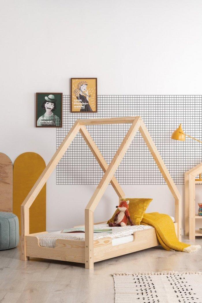 Loca C 100x190cm Łóżko dziecięce drewniane ADEKO