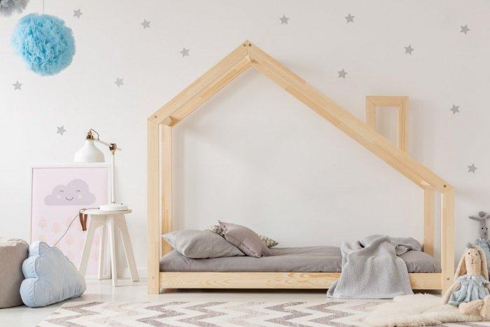 DMS 80x160cm Łóżko dziecięce domek Mila ADEKO