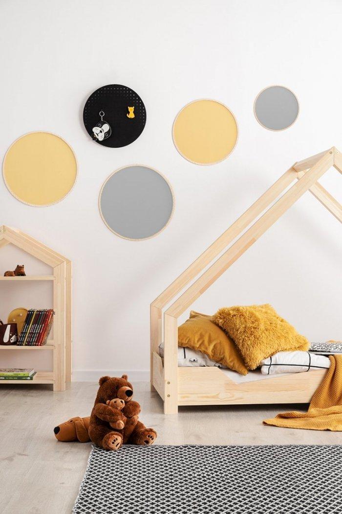Loca A 100x190cm Łóżko dziecięce drewniane ADEKO