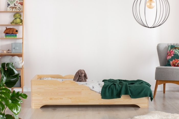 BOX 11 100x190cm Łóżko drewniane dziecięce