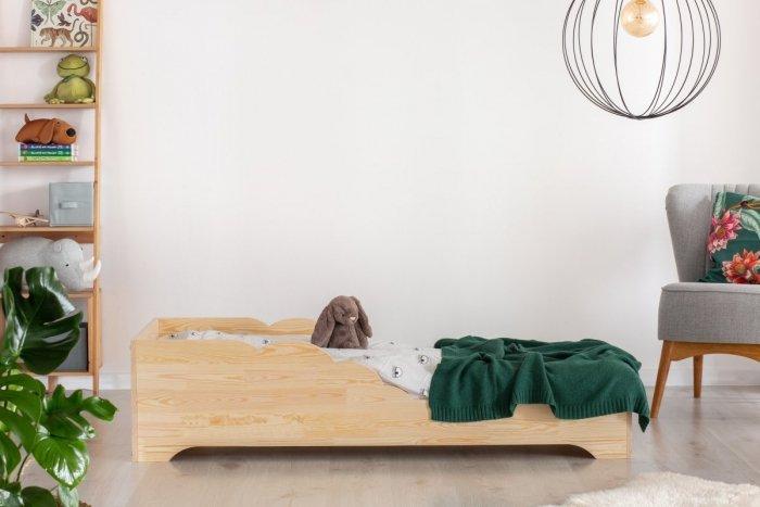 BOX 11 100x170cm Łóżko drewniane dziecięce