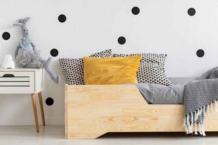 BOX 1 90x200cm Łóżko drewniane dziecięce