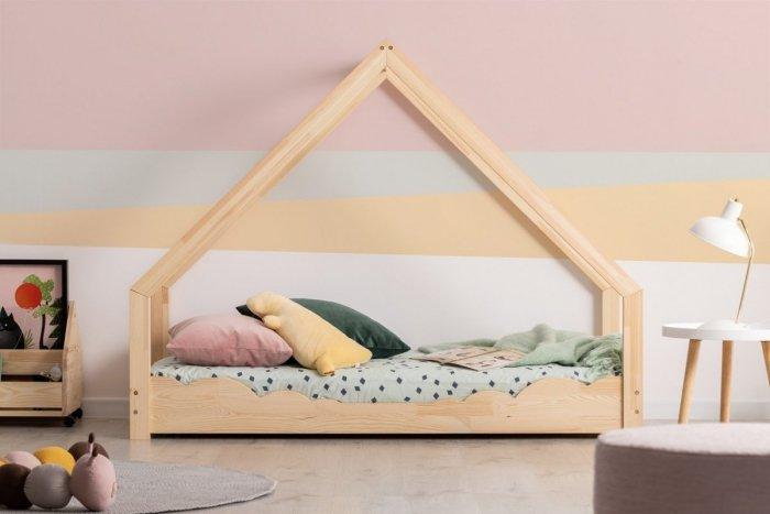 Loca D 80x160cm Łóżko dziecięce drewniane ADEKO