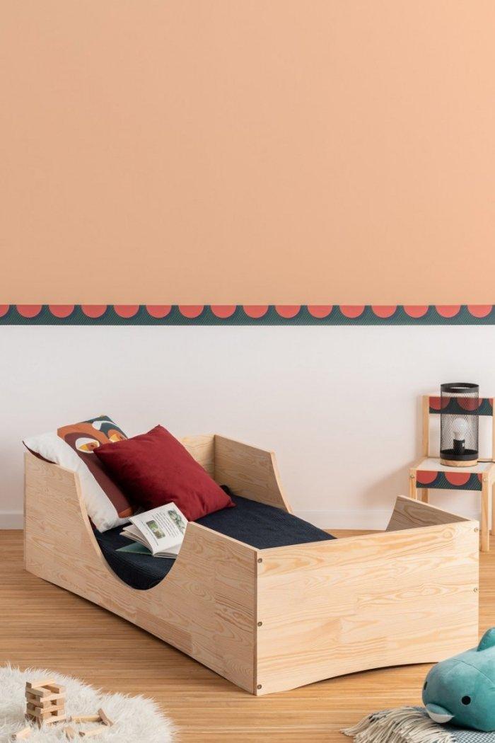 PEPE 2 90x160cm Łóżko drewniane dziecięce
