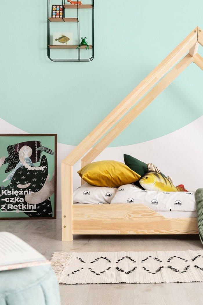 Loca B 100x190cm Łóżko dziecięce drewniane ADEKO