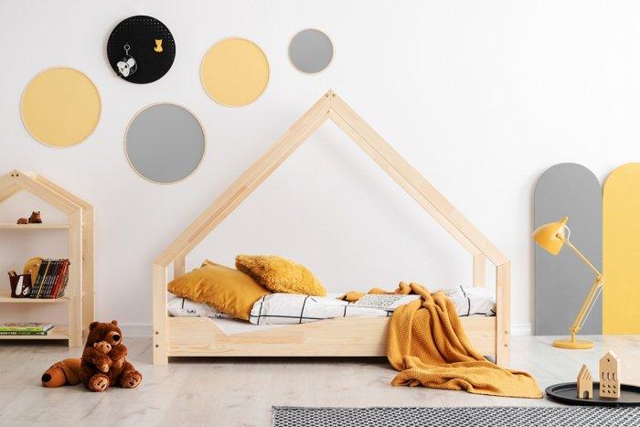 Loca A 80x160cm Łóżko dziecięce drewniane ADEKO