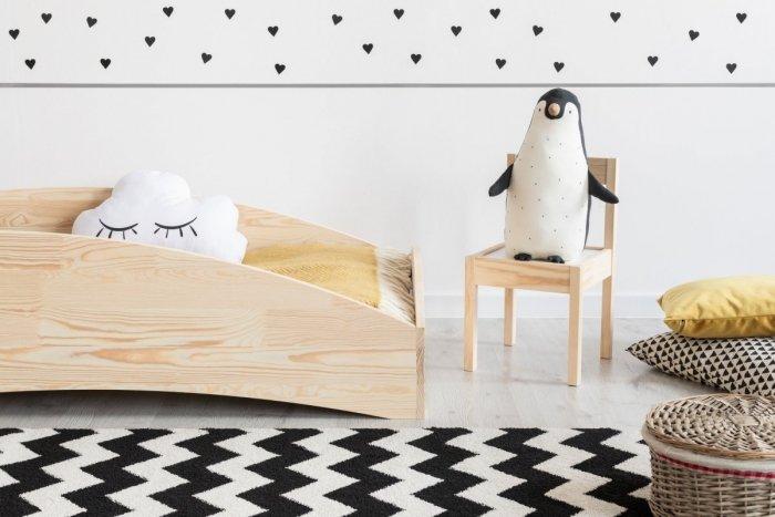 BOX 6 80x170cm Łóżko drewniane dziecięce
