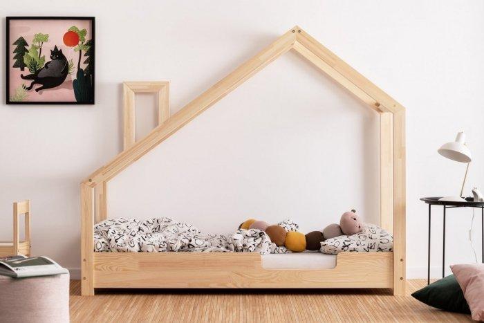 Luna C 80x160cm Łóżko dziecięce domek ADEKO