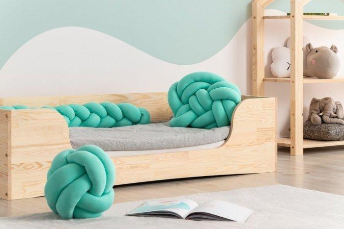 Poduszka warkocz 3w1 kolor MIĘTOWY
