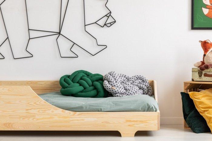 BOX 4 90x140cm Łóżko drewniane dziecięce