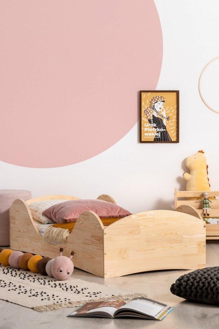 PEPE 1 90x160cm Łóżko drewniane dziecięce