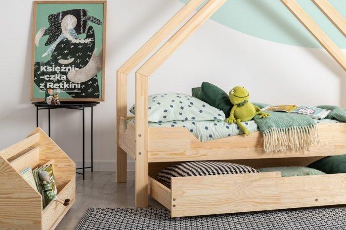 Loca A 100x200cm Łóżko dziecięce drewniane ADEKO
