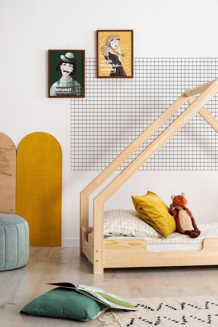 Loca C 70x160cm Łóżko dziecięce drewniane ADEKO