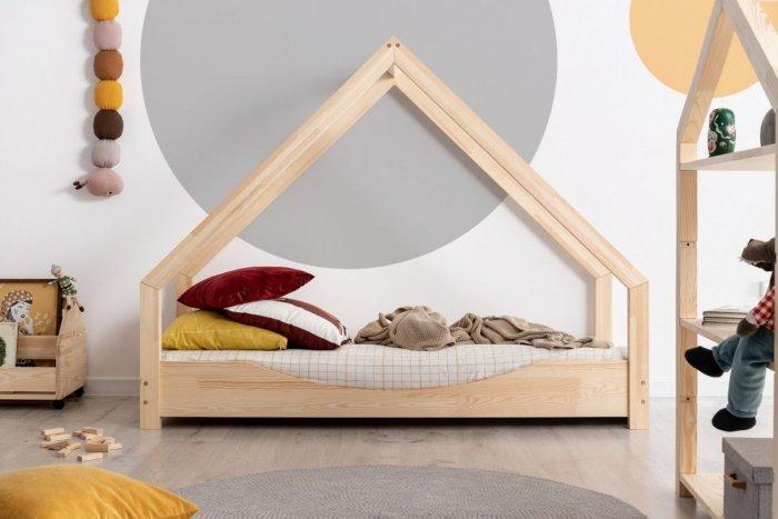 Loca E 80x190cm Łóżko dziecięce drewniane ADEKO
