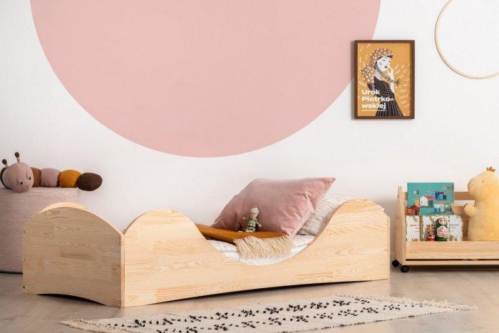 PEPE 1 90x200cm Łóżko drewniane dziecięce