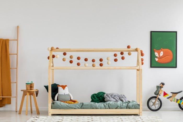 Mila M 100x180cm Łóżko dziecięce domek ADEKO