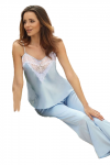 DKaren Melanie Baby Blue piżama damska