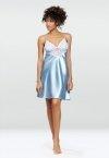 DKaren Luna Baby Blue damska koszula nocna