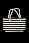 Henderson Ladies  Feliss 51x33cm 38131-99X Biało-czarny torba plażowa