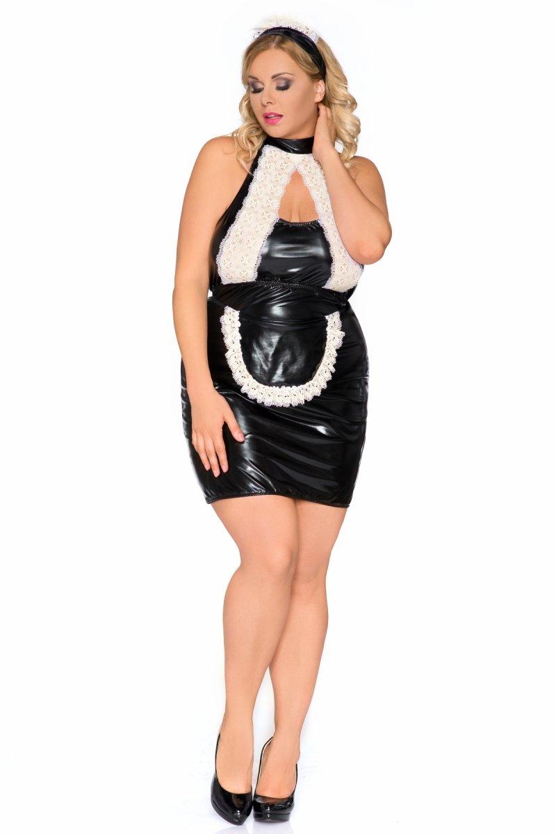 23246e7d905bc1 Andalea Z 5010 Kostium kelnerki - Queen Size XXXL - Bielizna erotyczna,