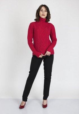 MKM Estelle SWE 121 Malinowy sweter