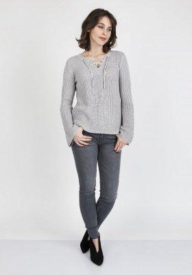 MKM Kylie SWE 117 Szary sweter