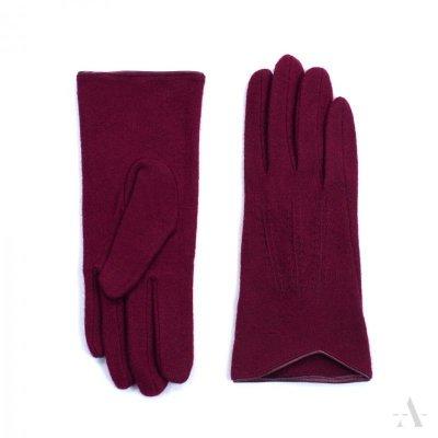 Art of Polo Melbourne Bordowe rękawiczki