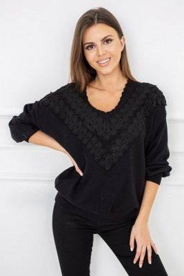 Vittoria Ventini Verona Black G2555 sweter damski